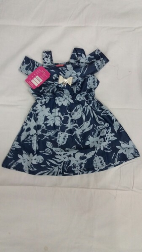 Baby Girls Frock, Size: M And XL