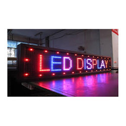 Moving LED Display Board, Shape: Rectangle