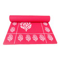 Printed Design Floral Yoga Mat