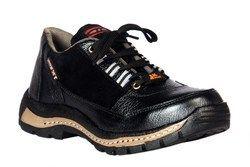 JK钢黑色安全钢脚趾鞋,可用尺寸:6-10,包装类型:盒子