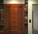 Wood Luck Door