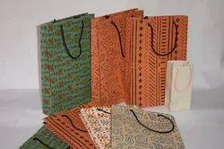 Plain Handmade Paper Bags Capacity : 500gm, 1 2 5kg