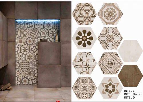 Wall Tiles Intel Hexagonal Tiles Wholesaler From Pune
