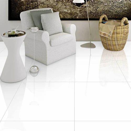 Star White Vitrified Floor Tiles