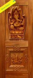3d Carving Effect Doors Wood Digital Doors, Thickness: 30mm
