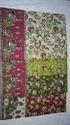 Multi Kalamkari Print Kalamkari Cotton Saree, With Blouse Piece