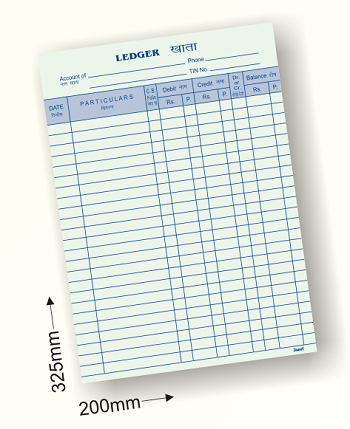 Register Size Ledger Books