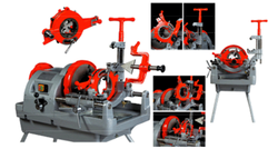 Economic Pipe Threading Machine
