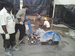 RCC Diamond Cutting Work