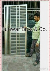 Safety Stainless Steel Doors