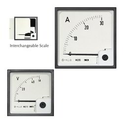 AC Moving Iron Din Panel Ammeter & Voltmeters