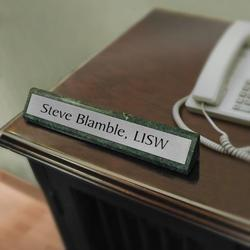 Desk Name Plate