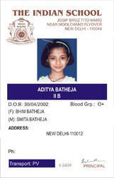 Dhamnod 11806399762 s At Id कार्ड piece School Id आईडी Dhar Rs Card स्कूल 20