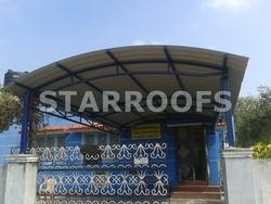 Arch Roofing Sheds