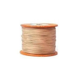 Rectangular Double Glass Fibre Covered Aluminium Wire