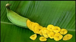 Chippiz Yellow Banana Chips Fried in Pure Coconut Oil, Pack Size: 1000, Packaging Type: Packet