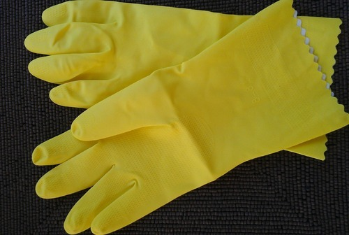 Reusable Latex Rubber Hand Gloves - Hands Safety