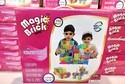 Mixed Colours Magic Bricks Toy, Size/dimension: Stage 2 192 Pieces