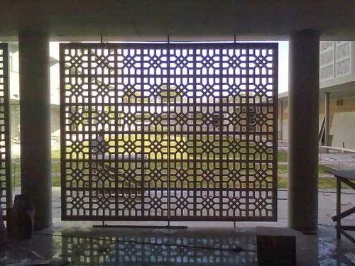 Rectangular Modern Grc Jali Rs 360 Square Feet Swastik
