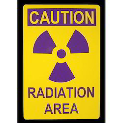 Radiation Warning Sign Boards