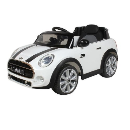 Baybee Officially Licensed Mini Cooper Car White