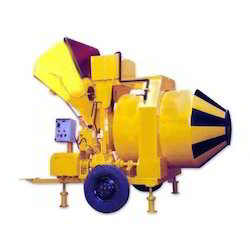 Electric Engine Semi-Automatic Reversible Concrete Mixer, 750 RM