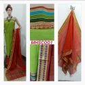 Maheshwari Handloom Silk Cotton Suit
