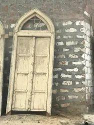 Yellow Antique Door