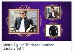 Mens Stylish TR Nappa Leather Jacket