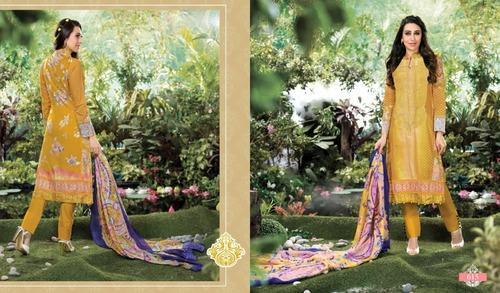 Haseen Printed Cotton Suits