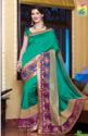 Designer Silk Net Sarees