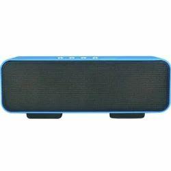 Blue Portable Bluetooth Mobile Tablet Speaker