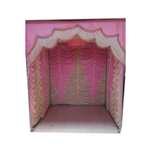 Ganesh Mandap Decorative Ganesh Stage Cloth Manufacturer