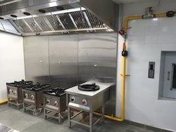 Commercial Kitchen Internal Gas Pipeline