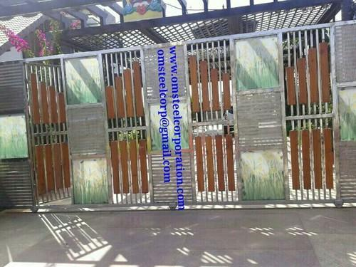 stainless steel modern house gate at rs 22000 piece designer rh indiamart com modern house gate color modern house gate design