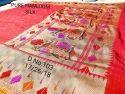 Banarasi Handloom Silk Sarees, 6.3 M With Blouse Piece