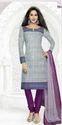Purple  Cotton Suit