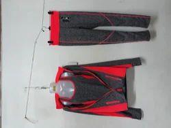 Girls sports jacket track sando 3pcs