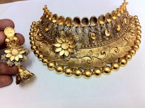 Antique gold necklace gold antique necklace soni bazar rajkot antique gold necklace aloadofball Gallery
