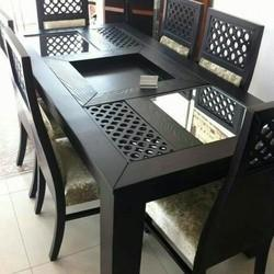 Solid wood Wooden Dinning Table
