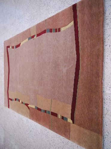 Brown labellus Indo Nepalese Carpets, Size: 10*7feet, for Home