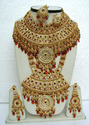 Indian Gold Plated Wedding Bridal Jewellery Set Wj-17