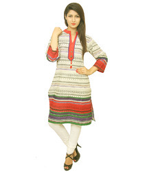 Cotton Stretchable Designer Kurtis