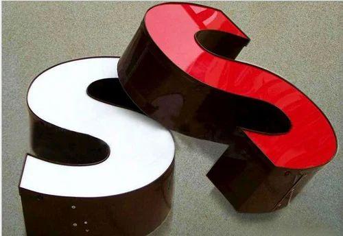 Acrylic 3D Letter at Rs 40 /square feet(s) | Cubbonpet Main Road ...
