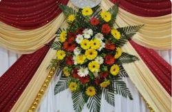 Flower Decoration on Stage