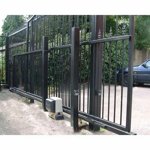 Sliding Gate Motorised Sliding Gate Manufacturer From Thane