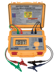 Battery Powered Milliohm Meter