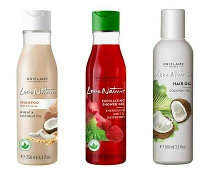 Oriflame love nature hair coconut oil 100ml coconut hair tel oriflame love nature hair coconut oil 100ml stopboris Gallery