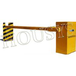 Housys Mild Steal Rectangle Shape Crash Rated Boom Barrier