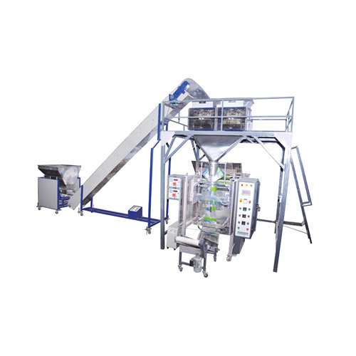 Automatic Pouch Packing Machine with Linear Weigh Filler